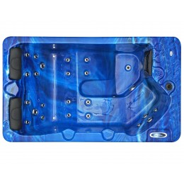 Outdoor whirlpool SPAtec 300B blau