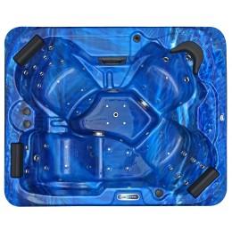 Outdoor whirlpool SPAtec 500B blau
