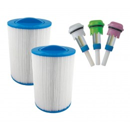 Pack Filter + Aroma aussenwhirlpool